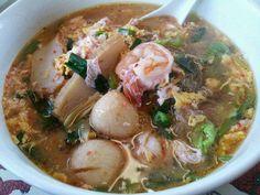 Thai Sukiyaki Noodle Soup
