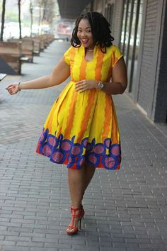 Wedding guest dress, Short dress, African prints African Dresses For Women, African Print Dresses, African Attire, African Wear, African Fashion Dresses, African Women, Ankara Fashion, African Prints, African Style