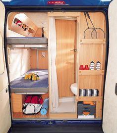 How to Prepare a Bug Out Laptop Kit – Bulletproof Survival Van Conversion Interior, Camper Van Conversion Diy, Bus Life, Camper Life, Motorhome Interior, Travel Camper, Kombi Home, Sprinter Camper, Van Home