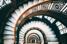 Rookery - Rookery Staircase in Chicago, Illinois