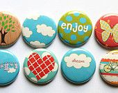 A Flair for Buttons. Great Etsy shop with lots and lots of different buttons!