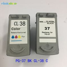 Buy online US $20.82  PG-37 CL-38 Ink Cartridge For canon PG37 CL38 For canon PIXMA ip1800 MP140 ip2600 pg 37 cl 38 MP160 MP190 MP210 MP220 MP420   #Cartridge #canon #PIXMA  #OfficeEquipment