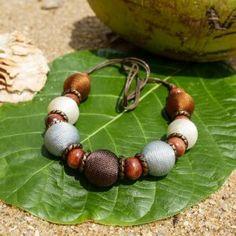 Endah Fresh Brown - ručne vyrobený náhrdelník   Jawa Jewellery Dark Brown, Beaded Bracelets, Jewellery, Fresh, Fashion, Moda, Jewels, Fashion Styles, Pearl Bracelets
