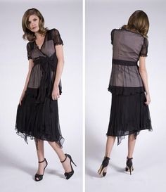 Downton Abbey Inspired $129. The dress i like, the slouching, not so much.