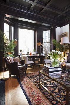 Lighting is the energy of a space, posed Francis, whose apartment grants ample…