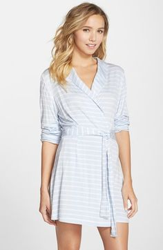 Nordstrom Anniversary sale- Splendid Jersey Wrap Robe (Nordstrom Exclusive) available at #Nordstrom