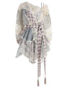 Zimmermann Cavalier Plaid Dress. Product Image.