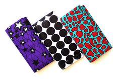 African Material Folded #afrillagemarket #africanprint #africanfabric