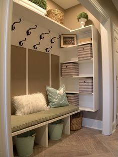 Just a few weeks ago I helped a client turn an unorganized unused hall closet into a family friendly mud room. Thought I would share& The post Just a few weeks ago I helped a client turn an unorganized unused hall closet in& appeared first on Dekoration. Room Remodeling, Cheap Home Decor, Hallway Closet, Small Mudroom Ideas, Entry Closet, Laundry Closet Makeover, Living Room Remodel, Home Decor, Closet Makeover
