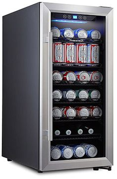 Phiestina PH-CBR100 Beverage Cooler, 106 Can
