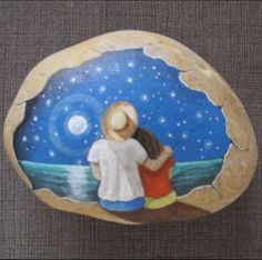 Rock Painting by Pedra Brasil
