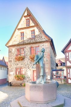 15 Incredibly Cute German Towns To Enjoy This Summer's Weizenbier Road Trip, Germany, Around The Worlds, Mansions, House Styles, Roots, Summer, Fairy, Travel
