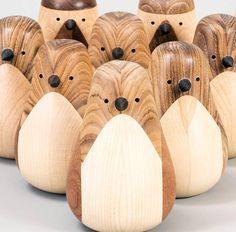 I'm loving how Norwegian craftsman and designer Lars Beller Fjetlandthat elevates leftover wood from being merely an ignored piece of trash to becoming a desired piece of feel-good woodcraft. These adorable Re-turned birds were probably once a part of and old table or a scrap of wood that never made it to the factory.