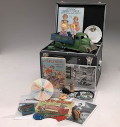 Museum Victoria Reminiscing Kits are designed for aged care activity coordinators to use in reminiscing sessions. Each kit contains a selection of objects chosen to stimulate the senses and promote reminiscing and includes a user-guide full of information to promote group and one-on-one activities.