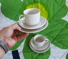 Items similar to Arabia Finland Teema 2 sets of Design by Kaj Franck on Etsy Side Plates, 2 Set, Kitchenware, Finland, Colours, Ceramics, Etsy, Design, Ceramica