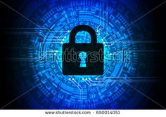 Technology Security Blue Abstract Background Vector Illustration Vector Technology, Blue Abstract, Abstract Backgrounds, Illustration, Image, Illustrations