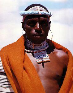 Portrait of a Xhosa man. South Africa. BelAfrique your personal travel planner - www.BelAfrique.com