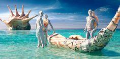 """Die Comicverfilmung """"Valerian – Die Stadt der tausend Planeten"""" von Luc Besson ist eine Ausstattungsorgie. Das Auge freut das umso mehr."""