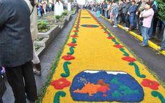 Tapetes de rua são atrações turísticas durante Corpus Christi - Destinos Nacionais - iG