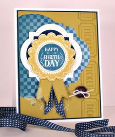 Blue Ribbon Birthday
