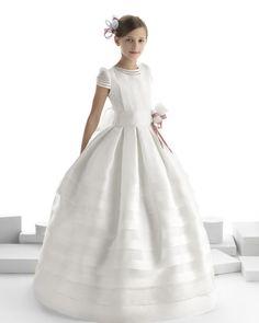 Salvina vestido de comunión Rosa Clara