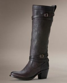 Women's Jane Strappy Boot - Charcoal Love these but the price...ouch