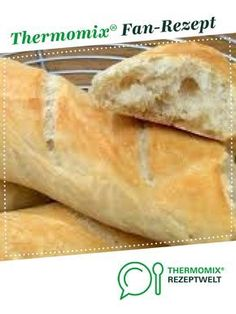 Baguette in a flash by A Thermomix ® recipe from the Bread & Buns category at www.de, the Thermomix ® Community. Baguette in a flash by A Thermomix ® recipe from the Bread & Buns category at www.de, the Thermomix ® Community. Easy Bread Recipes, Stir Fry Recipes, Sandwich Recipes, Egg Recipes, Snack Recipes, Snacks, Bread Bun, Bread Rolls, Pork Buns