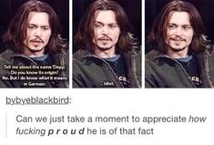 Was scrolling through marauders posts and legit just went ah yes Sirius Black ke. - Was scrolling through marauders posts and legit just went ah yes Sirius Black kept scrolling and then realized it was in fact Johnny Depp Stupid Funny Memes, Funny Relatable Memes, Funny Posts, Funny Quotes, Hilarious, The Marauders, Pirates Of The Caribbean, Really Funny, Entertainment