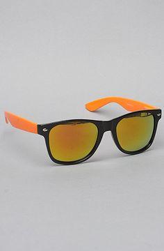 The Bright Neon Sunglasses in Orange by *Accessories Boutique