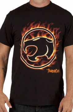 ThunderCats Flame T-Shirt: 80s Cartoons Thundercats T-shirt