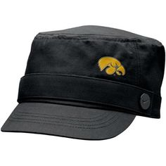 Nike Iowa Hawkeyes Ladies Black Cadet Hat    Price: $23.95