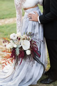 Halloween wedding ideas - photo by Gaudium Photography http://ruffledblog.com/gothic-glam-fall-wedding-ideas