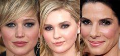 Maquiagem SAG Awards Jennifer Lawrence, Abigail Breslin, Sandra Bullock!