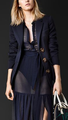 TAILORED JACKET WITH BELLOWS POCKETS