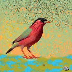 Shiva Art, Bird, Artist, Painting, Animals, Animales, Animaux, Birds, Artists
