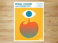 I've been touring with some friends the past couple months in a band called Rival Choir and it's been surreal. We just finished up an amazing three week tour with Norma Jean and He is Legend last n. Psychedelic Typography, Crop Pictures, Crop Pics, Samsung Galaxy Mini, Typography Poster, Gig Poster, Galaxy Ace, Inspirational Posters, Letterpresses