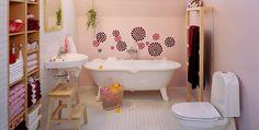 Kids bathroom Teen Bathrooms, Bathroom Kids, Bathroom Design Small, Small Bathrooms, Clever Bathroom Storage, Bathroom Storage Solutions, Fen Shui, Traditional Dining Tables, Modern Bathroom Lighting