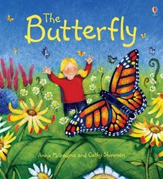 The Butterfly - beautifully illustrated story book with informative text about the life cycle of a butterfly!