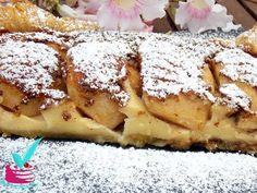 ΜΗΛΟΠΙΤΑ ΜΕ ΚΡΕΜΑ - Νόστιμες συνταγές της Γωγώς! Greek Sweets, Light Recipes, Lemon Grass, Cheesesteak, Apple Pie, French Toast, Cookies, Breakfast, Ethnic Recipes