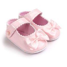 Baby Girl Bow Flats