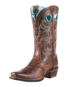 Ariat Rawhide Brown Women's Boots 10010936, Lammle's Western Wear & Tack $230.00
