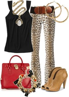 Outfits de Moda ...Me Tomo Cinco Minutos: PANTALONES ESTAMPADOS
