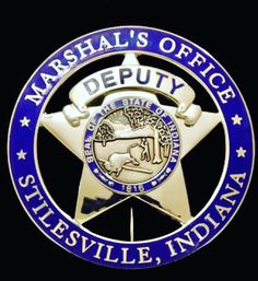 US State of Indiana, City of Stillesville Marshal Office Badge Police Badges, Police Uniforms, Police Cars, Fire Badge, Law Enforcement Badges, Police Life, Badge Holders, Indiana, Patches