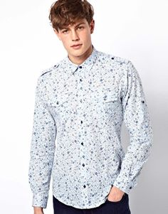 Discover the latest fashion and trends in menswear and womenswear at ASOS. Shop this season's collection of clothes, accessories, beauty and more. Floral Print Shirt, Floral Prints, Cool Walls, Asos Online Shopping, Latest Fashion Clothes, Women Wear, London, Shirt Dress, Mens Tops