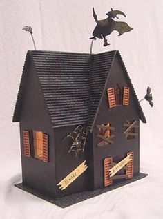 Sizzix Bigz HOUSE, SPOOKY HAUNTED - Google Search