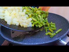 שני מתכונים של שעועית ירוקה 🍽️👌 סלט מרענן וטורטיות מירקות 🔝 - YouTube Green Bean Recipes, Nutrition, Celery, Asparagus, Green Beans, Vegetables, Youtube, Veggie Omelette, Recipes