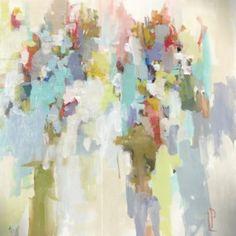 """Golden Sun"" 48×48 on gallery wrap"