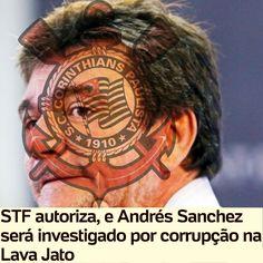 Andrés Sanchez será investigado por corrupção na Lava Jato [UOL Esportes] http://esporte.uol.com.br/futebol/ultimas-noticias/lancepress/2016/11/10/stf-autoriza-e-lava-jato-investiga-andres-sanchez-por-corrupcao.htm ②⓪①⑥ ①① ①⓪