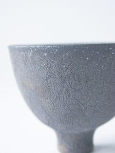 Manganese sake cup - RYOTA AOKI POTTERY ONLINE STORE