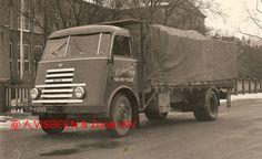 DAF H-46063 Visbeen Transport Nieuwe Tonge. jaren 50